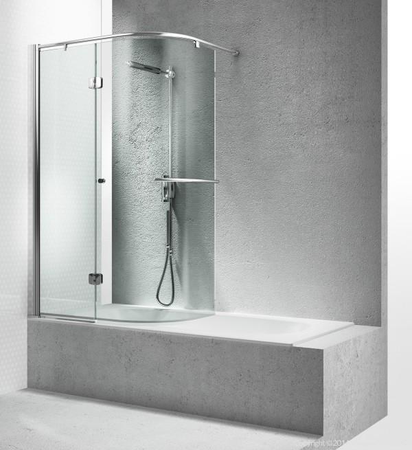 Bathtubs glass