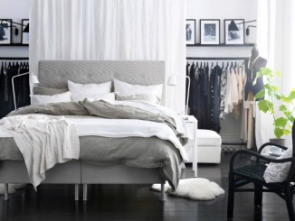 Bedroom tidy with style