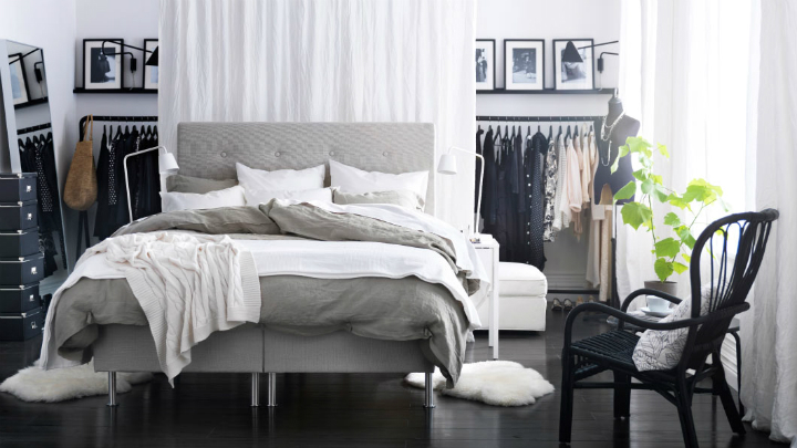 How to keep the bedroom tidy with style
