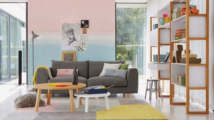Colors to renew the home