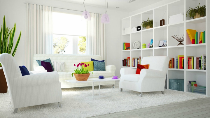 Decorate a new house