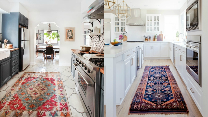 Including a carpet in the decor of your kitchen