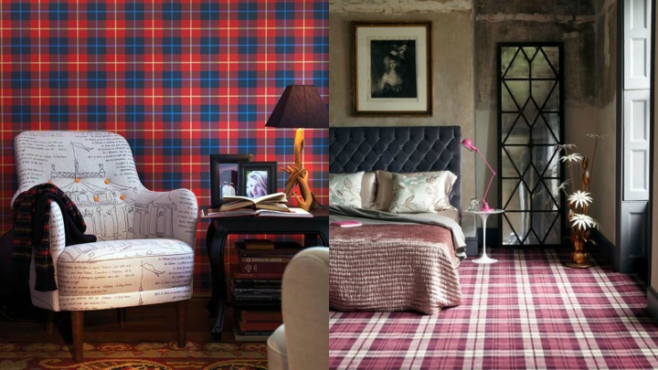 Decorating with plaids