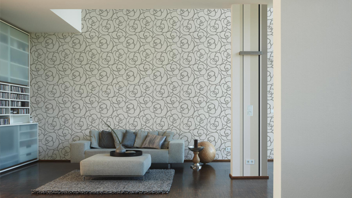 Decorate with wallpaper