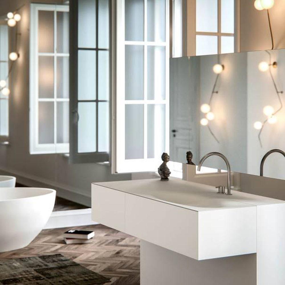 The acrylic stone sink