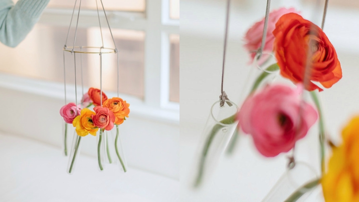 crafts made with flowers