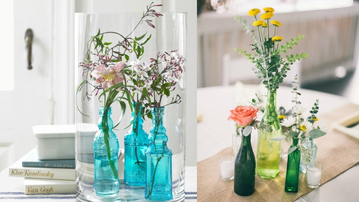 Decorating-with-Glass-Bottles