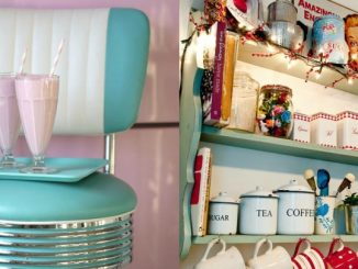 Fifties style decoration