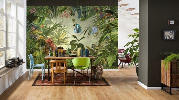 Ideas to decorate with Greenery, the color of the year 2017