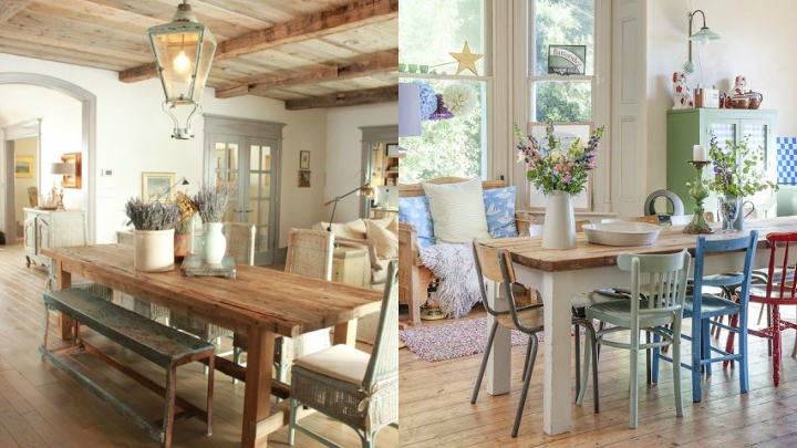 Ideas for decorating a living room with country style