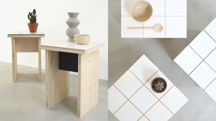 decorative and functional side table