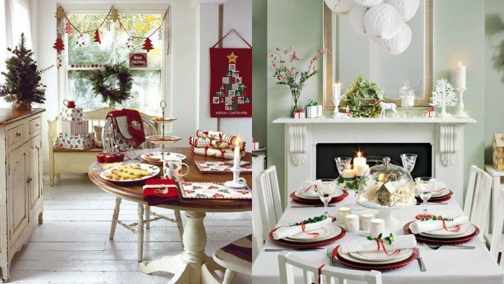 Christmas Dining Decor
