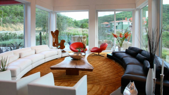 curved lines in your decoration