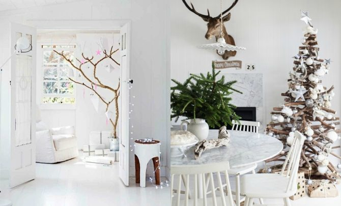 Ideas to decorate Christmas with Nordic style
