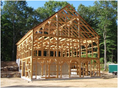An introduction to timber frame construction