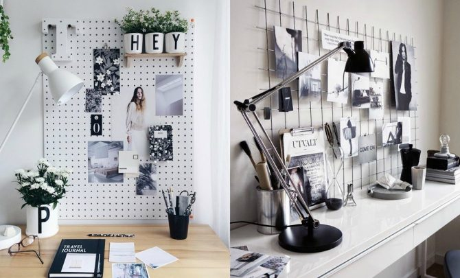 Ideas to decorate your desk