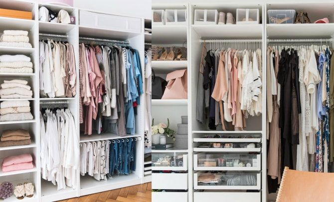 8 ideas to better organize your closets