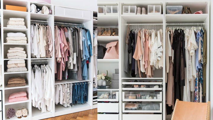organize your closets