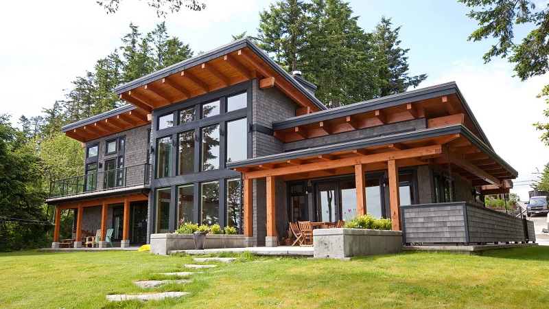 Houses With Exterior Designs In Modern Style.1