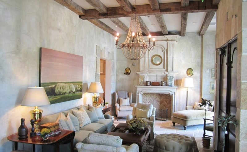 Provence Style Lamps: Suspended Ceiling, Wall And Table Lamps