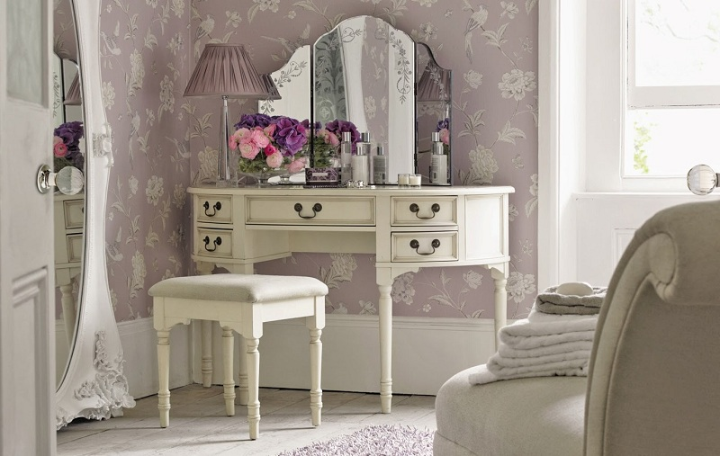 Dressing Table In The Bedroom Interior