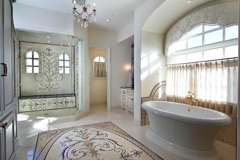 Mosaic In The Bathroom