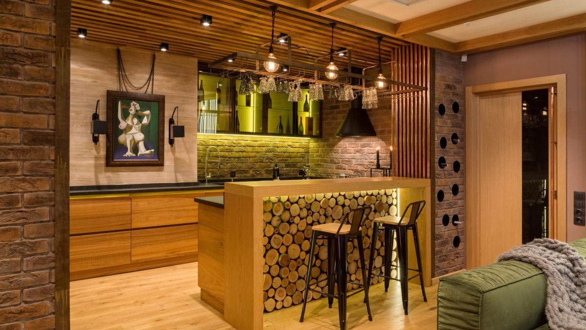 Eco-Style Interior In The Apartment