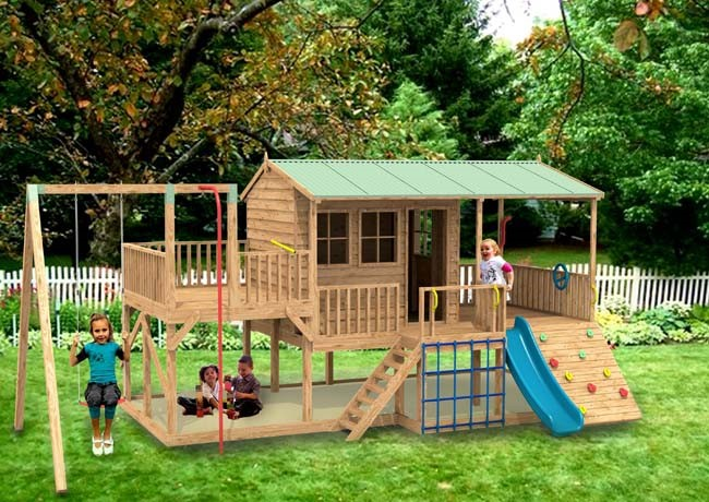 The Advantages of Wooden Structures in your garden