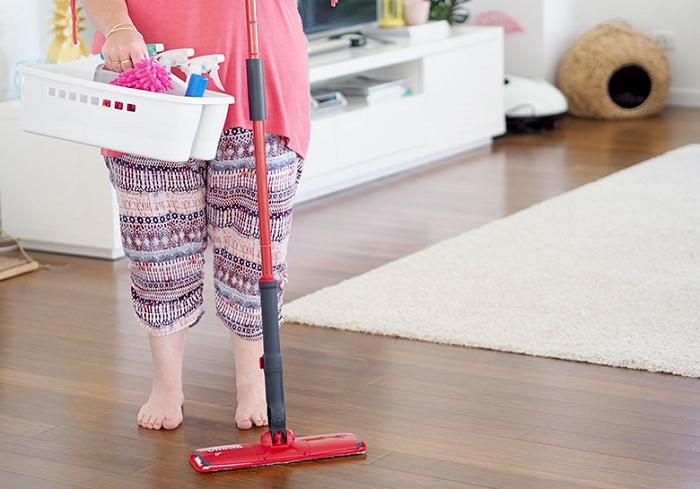 Keep floors flawless