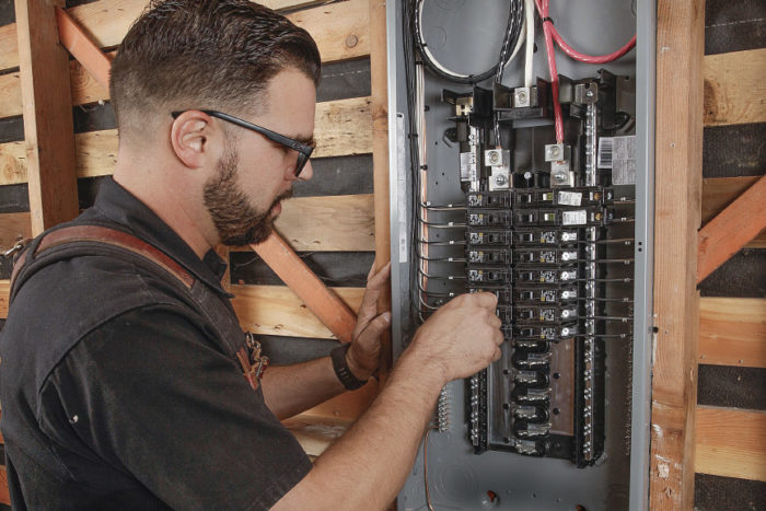 How to install an electrical panel