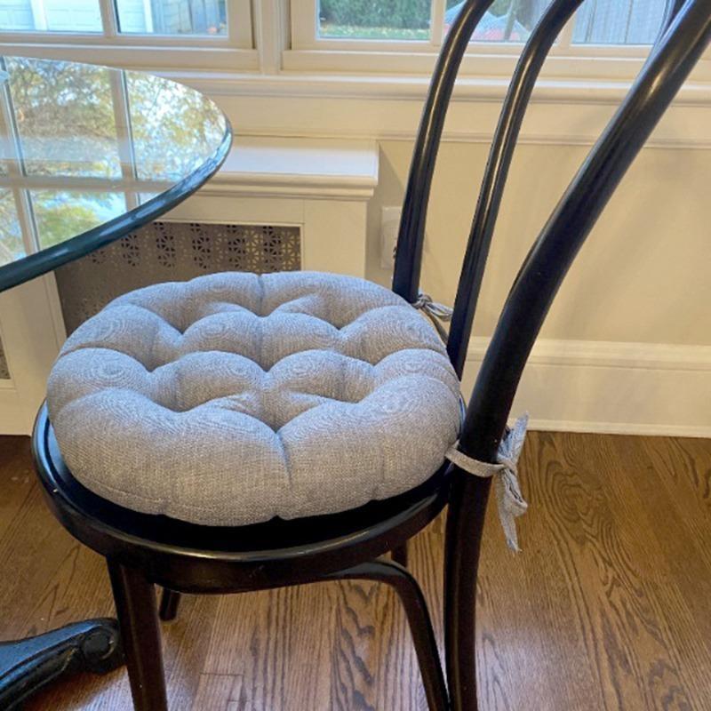 round chair cushions