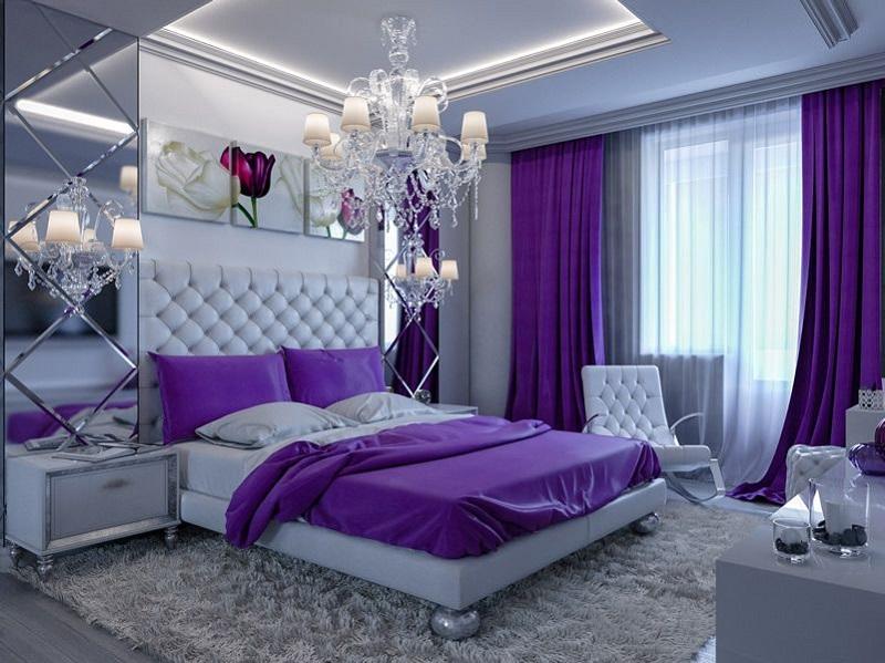 Purple room